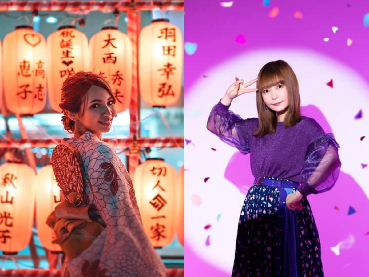 「盆ジョヴィ」DJセリーさん(左)やゲストの中川翔子さん(右)