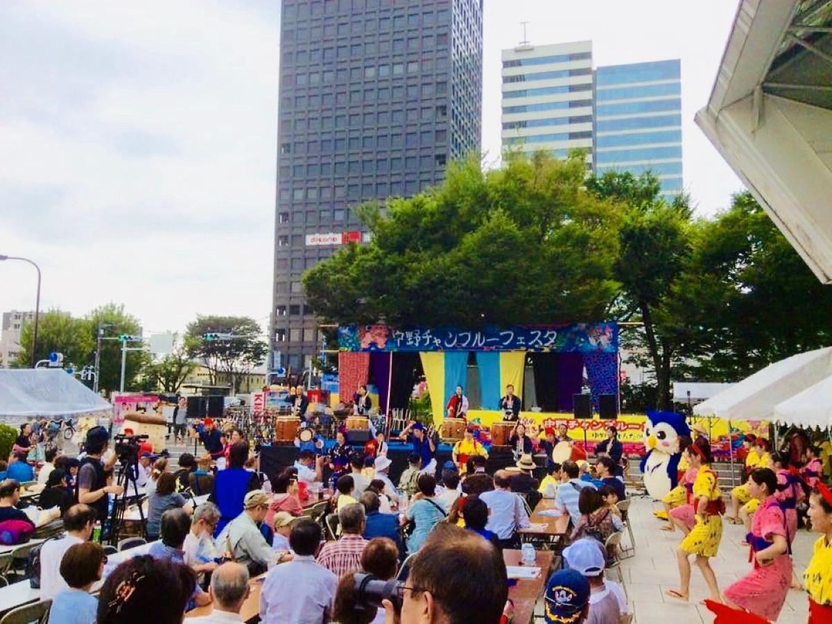 中野サンプラザ前会場の様子(過去開催時)