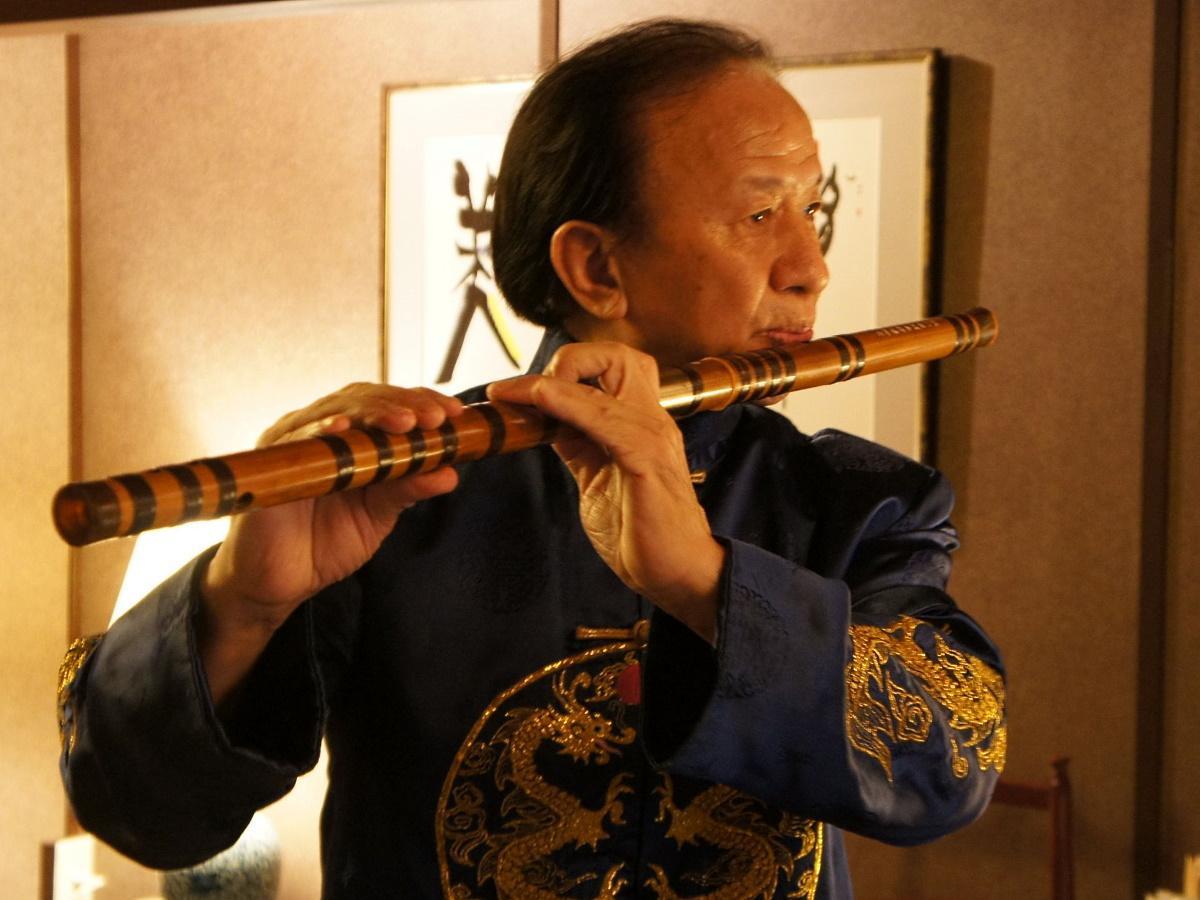 中国笛奏者・池英籌さん