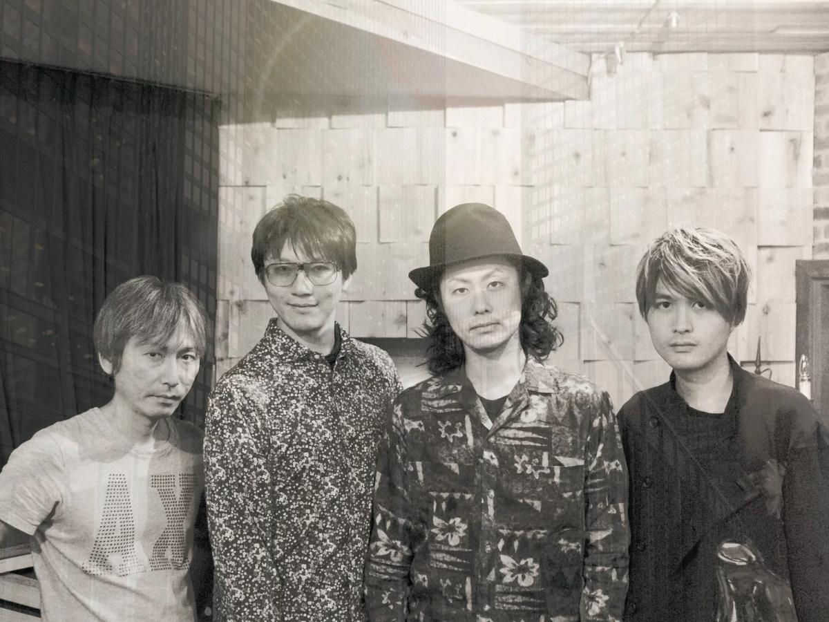 ギタリスト・生島佳明さん(右から2人目)率いる「Guruw(グルー)」