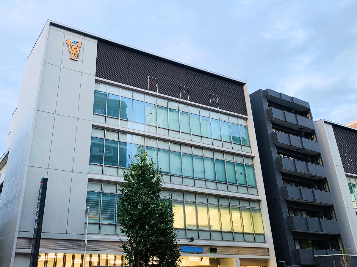 中野警察署新庁舎(外観)