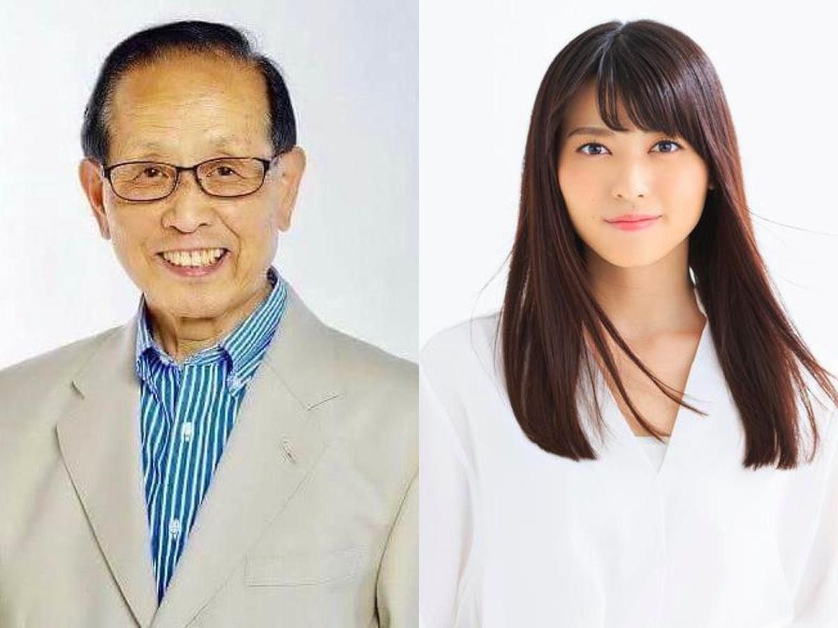 ゲストの近藤欽司さん(左)と矢島舞美さん(右)