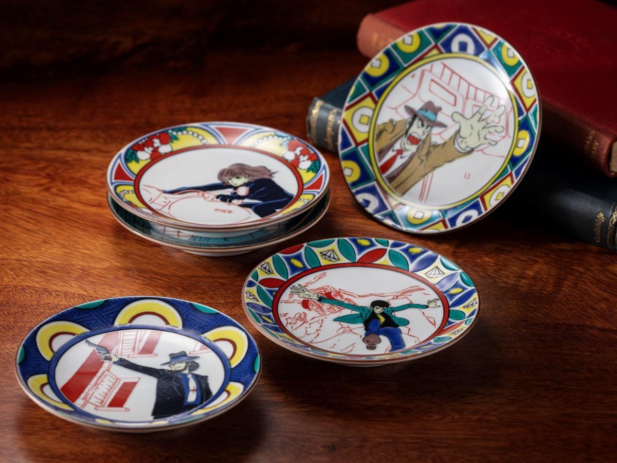 ルパン三世の豆皿5枚セット ©モンキー・パンチ/TMS・NTV