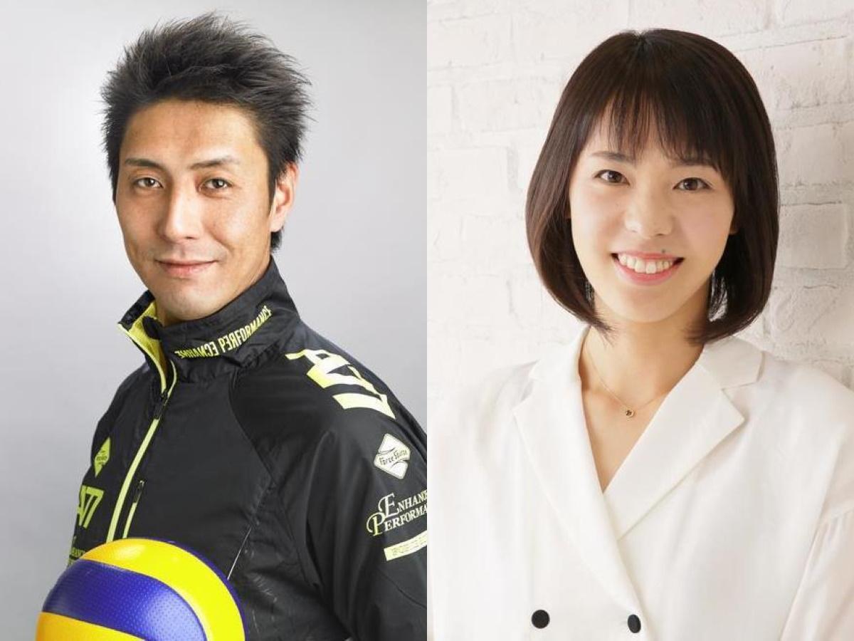 ゲストの山本隆弘さん(左)と迫田さおり(右)さん