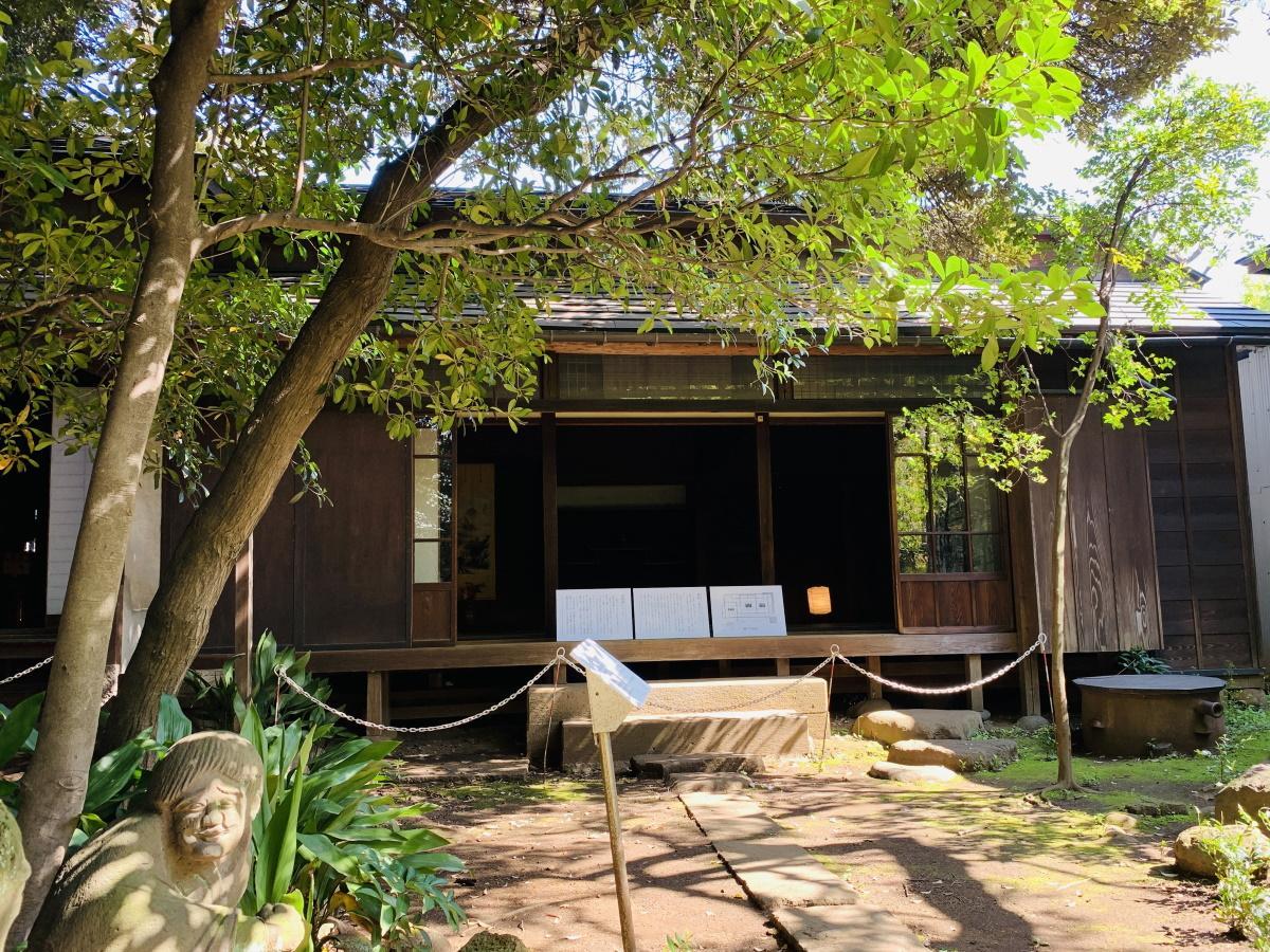 公開されている江戸時代の山崎家庭園や茶室