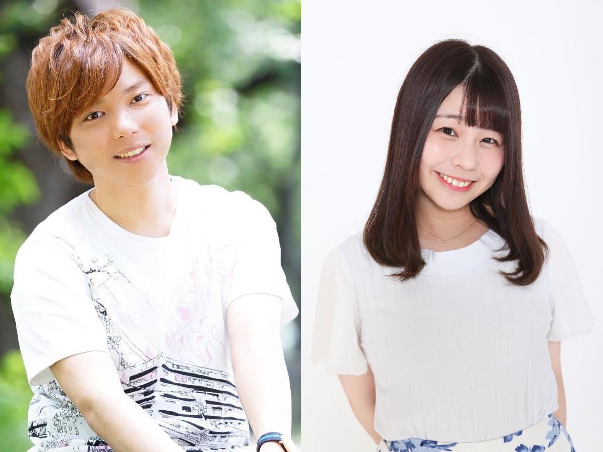 主演の米内佑希さん(左)とヒロインの今井瞳さん(右)