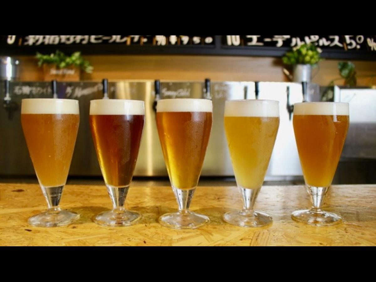 ビール工房の各種クラフトビール