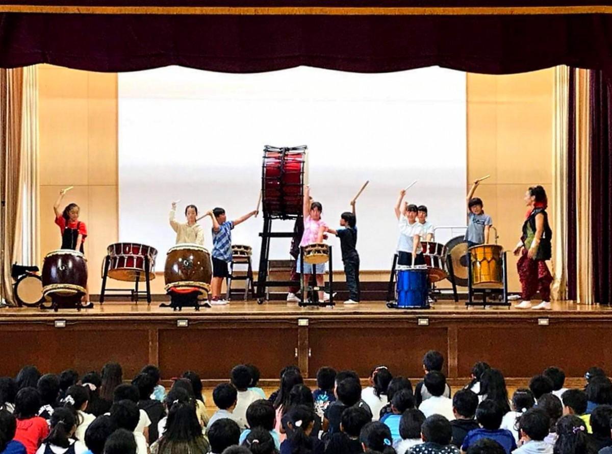 過去に東村山の小学校での開催した時の様子