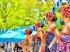 中野四季の森公園に「ビーチウオークストリート」出現 ハワイアンで「南国感じて」
