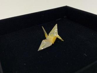 中野区立総合体育館内に平和資料展示室 「原爆の子の像」佐々木禎子さんの折り鶴も