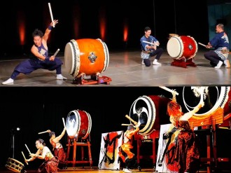 すご腕和太鼓チーム「暁」と伝統芸能「三宝会」、野方区民ホールで「打の響宴」