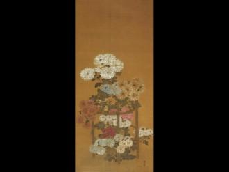 中野れきみんで館蔵品展「新春を寿ぐ~吉祥の美~」 吉祥文様の絵画や着物など