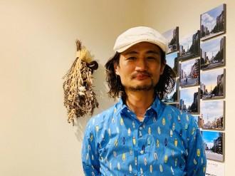 東中野のカフェで写真家・樋口トモユキさん個展 東京スカイツリー5年間の記録