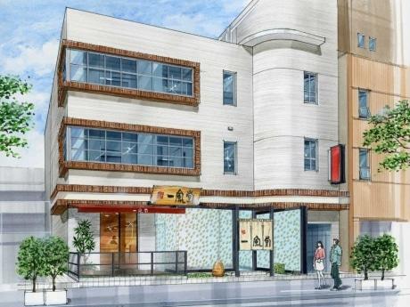 流行の発信地「南堀江」にあわせ、店舗テーマは「スタイリッシュなラーメン店」