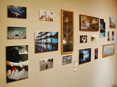 会場には、リコー「GRデジタル」を使用して撮影した作品が並ぶ