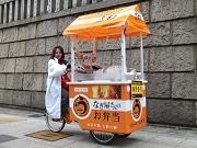 南船場のうなぎ料理店「七彩」、タウンカートによる出張販売が話題に