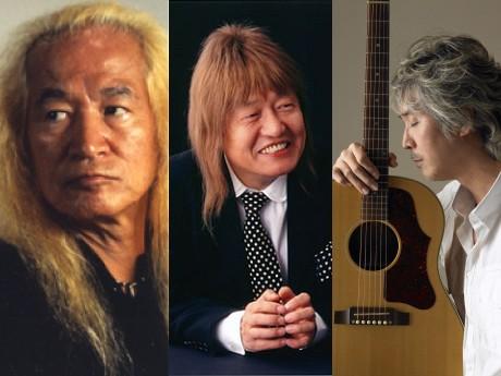 音楽祭に登場する内田裕也さん、ムッシュかまやつさん、桑名正博さん