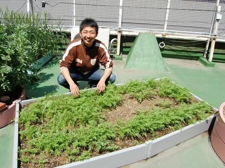 「おもしろ農業」代表の山村勝平さん