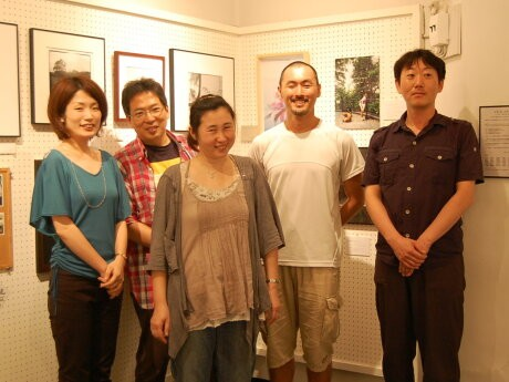 「ナダール10周年を祝う写真展」実行委員会のメンバー