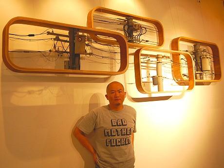 8年の歳月をかけて「電信柱エレミの恋」を完成させた、ソバットシアターの中田秀人さん
