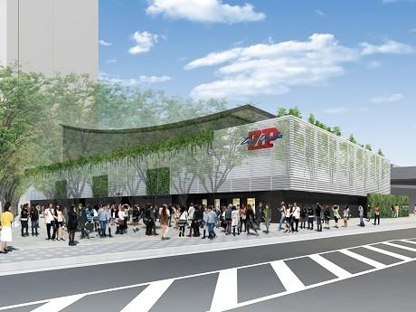 2012年春になんばに開業予定の新「Zepp Osaka」(仮)