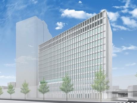 新「Zepp Osaka」東側に建設を予定するオフィスビル