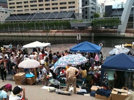 昨年8月に行った「大阪古着祭」の様子