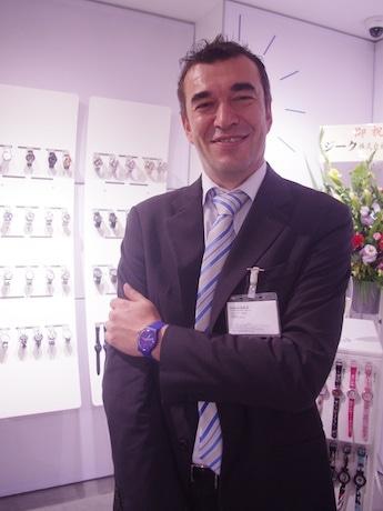 スウォッチグループジャパンのクリストフ・サビオ代表取締役