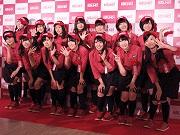 千日前に日本最大級「ラウンドワン」-NMB48が始球式