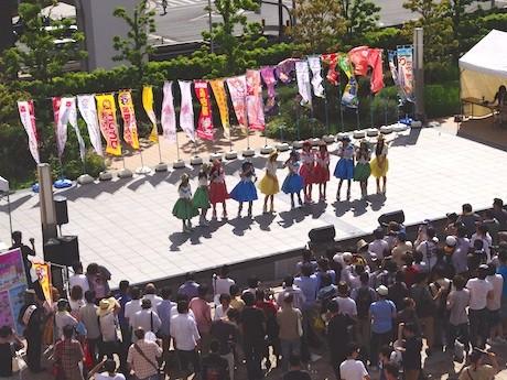 「ロコドルサミット2012」会場の様子