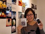 スマホ写真共有アプリ「インスタグラム」写真展-心斎橋のカフェで