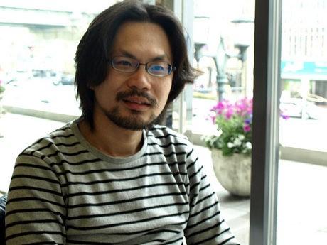 「大阪を舞台にラブストーリーを描きたい」と話すリム・カーワイ監督