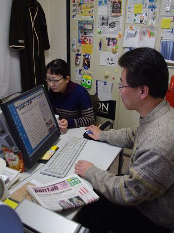 デシリットル・ファクトリーの楠瀬航社長(右)と立花亜希子さん(左)