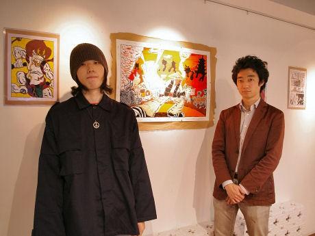 柄本賢治さん(左)と今井紀明さん(右)