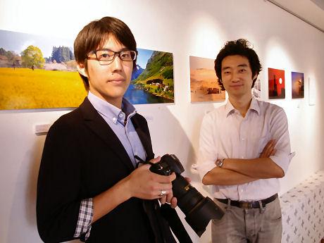 権藤大助さん(左)と今井紀明さん(右)