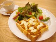 北堀江に節分の日に「大豆カフェ」-オープニングイベントに鬼出現