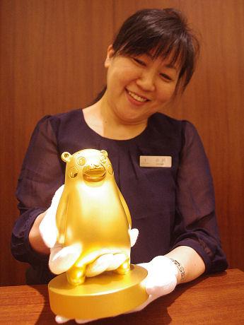 1億円の純金製くまモン