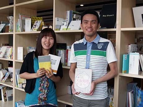 主催者の天野慶さん(写真左)と牛隆佑さん(同右)