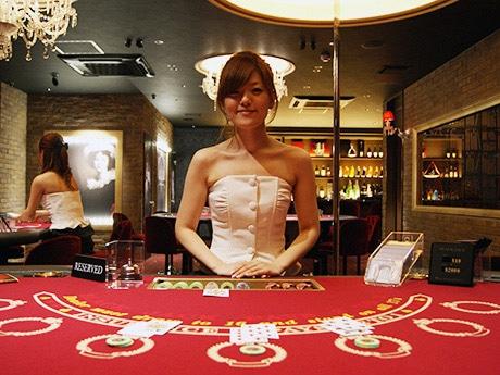 ヨーロッパの中規模カジノをイメージ