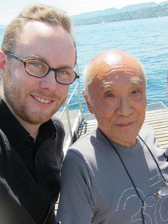 ユルク・ハルターさんと谷川俊太郎さん