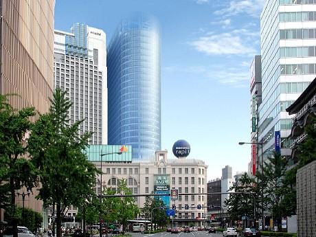 2018年の竣工を予定する「新南海会館ビル」(仮称)