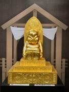 大阪高島屋に「黄金のビリケン」 総額40億円の「大黄金展」で