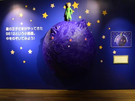 星の王子さまの小惑星「B612」