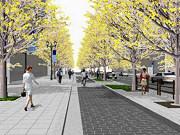 御堂筋の難波駅周辺の歩道を拡幅 自転車専用レーンも整備へ