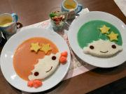 心斎橋に人気キャラのコラボカフェ 第1弾は「キキ&ララカフェ」