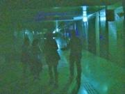 なんばウォークでホラーイベント「闇商店街」 深夜の地下街を回遊