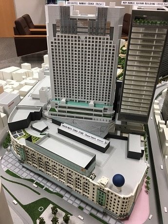 「新南海会館ビル」の模型