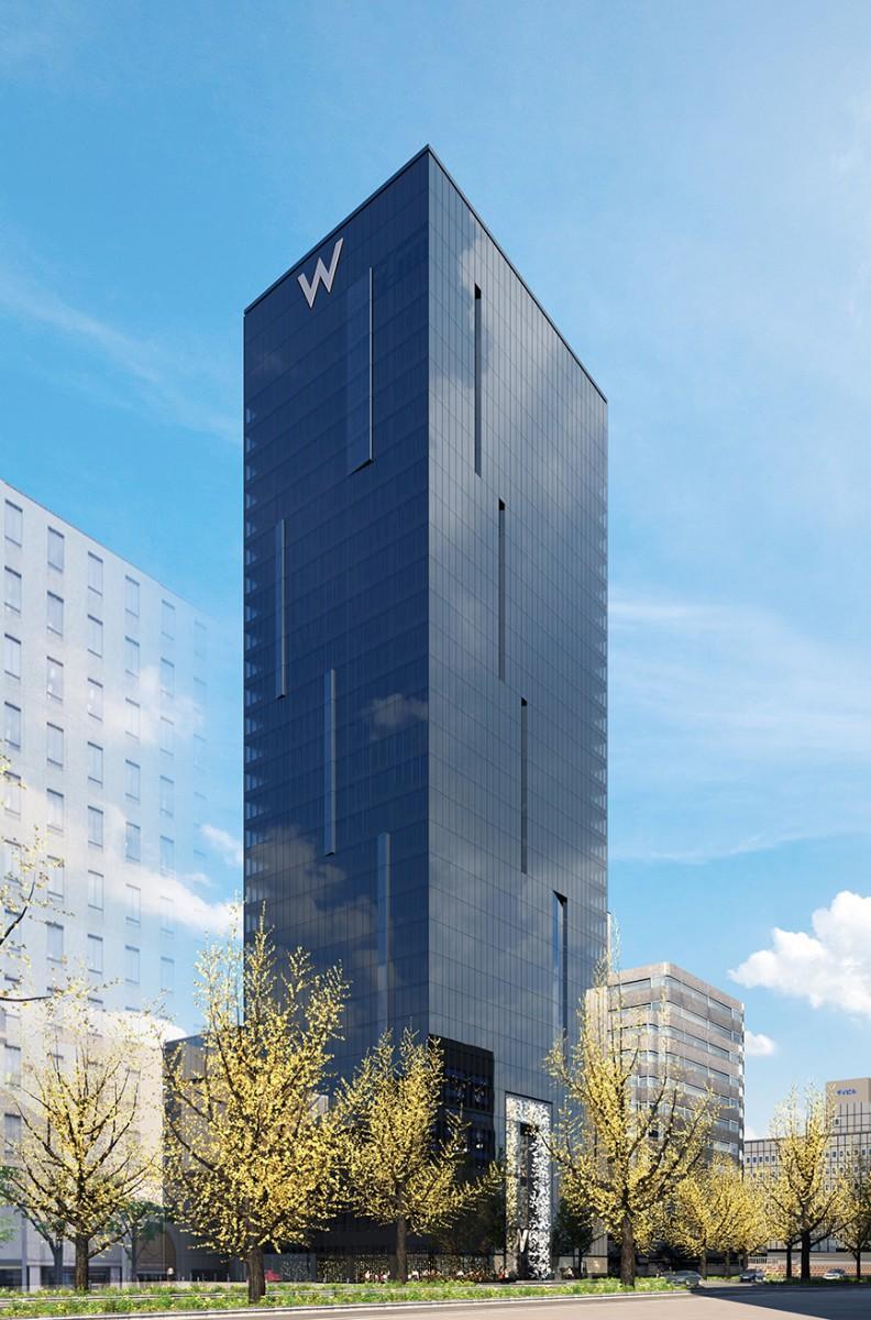 「W OSAKA」の外観イメージ
