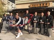 道頓堀の松竹座で「四代目桂春團治」 桂春之輔さんが襲名披露公演