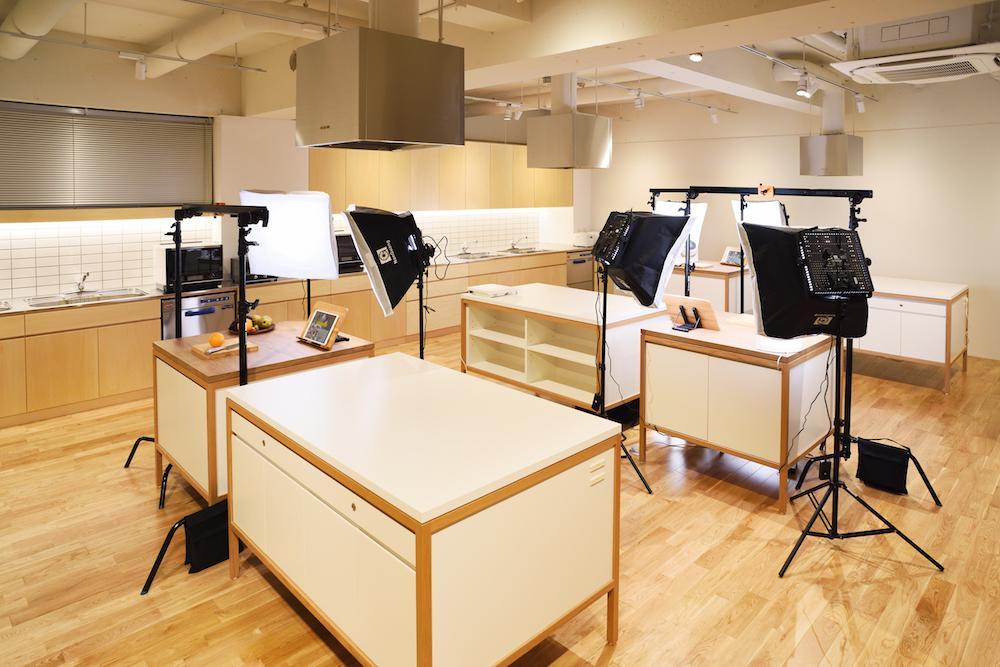 cookpad studio 代官山の様子
